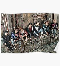 BTS U Never Walk Alone- Group Poster