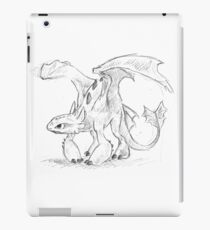 Toothless Pen Drawing iPad Case/Skin