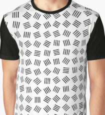 Random Shapes Light Graphic T-Shirt