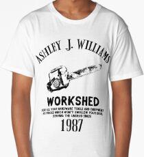Ash vs Evil Dead - Ash's Chainsaw Long T-Shirt