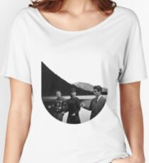 Collage Bande à part (Band of Outsiders) - Jean-Luc Godard Women's Relaxed Fit T-Shirt