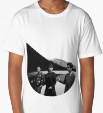 Collage Bande à part (Band of Outsiders) - Jean-Luc Godard Long T-Shirt