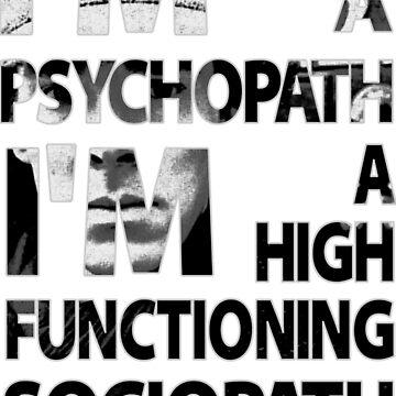 Sherlock - I'm Not A Psychopath... by Yithian