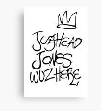 Jughead Jones Wuz Here Leinwanddruck