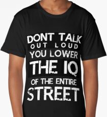 Sherlock - Don't Talk Out Loud... Long T-Shirt