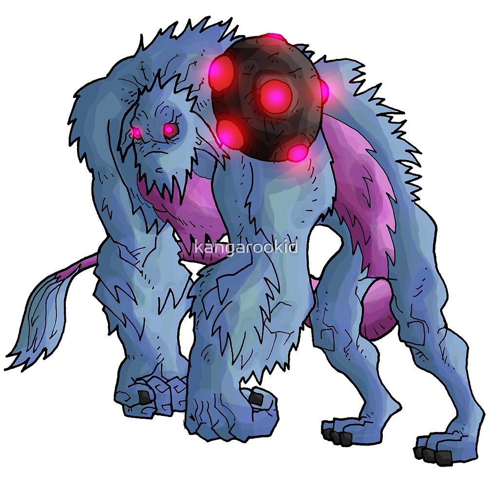 monster class: golma guardian by kangarookid