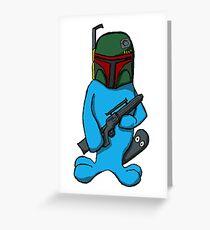Wabbu Fett - Star Wars/Pokemon Mashup Greeting Card