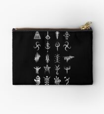 Bolso de mano Bloodborne caryll runes
