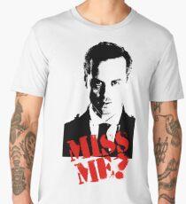 Sherlock - Miss Me (Moriarty) Men's Premium T-Shirt