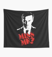 Sherlock - Miss Me (Moriarty) Wall Tapestry