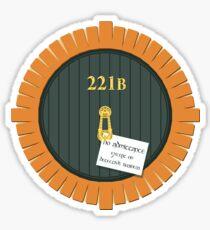 221B Bag End Sticker