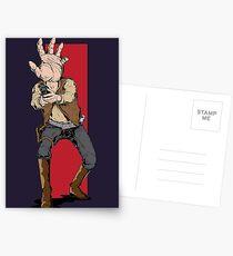 Hand Solo! Handt Rebel Fighter Postcards