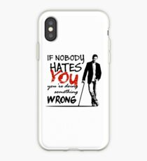 Dr House - If Nobody Hates You... iPhone Case