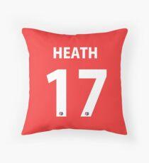 Tobin Heath Portland Thorns Throw Pillow