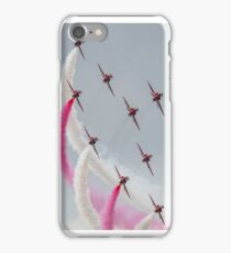 Red Arrows - Typhoon Pass iPhone Case/Skin