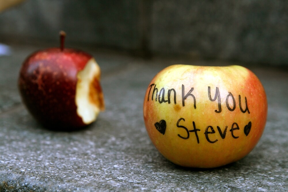Steve Jobs  I  by Mart Delvalle