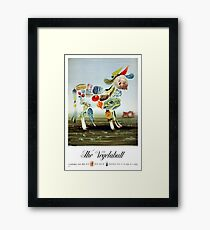 Vintage Vegetabull Advertisement Framed Print