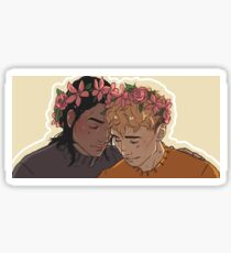 Carry On - Flowercrowns Sticker