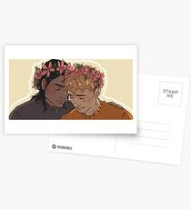 Carry On - Flowercrowns Postcards