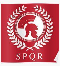 SPQR - Combat Casual Tees Poster