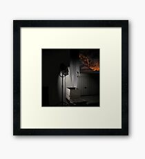 JAPAN TOWN SAN FRANCISCO Framed Print