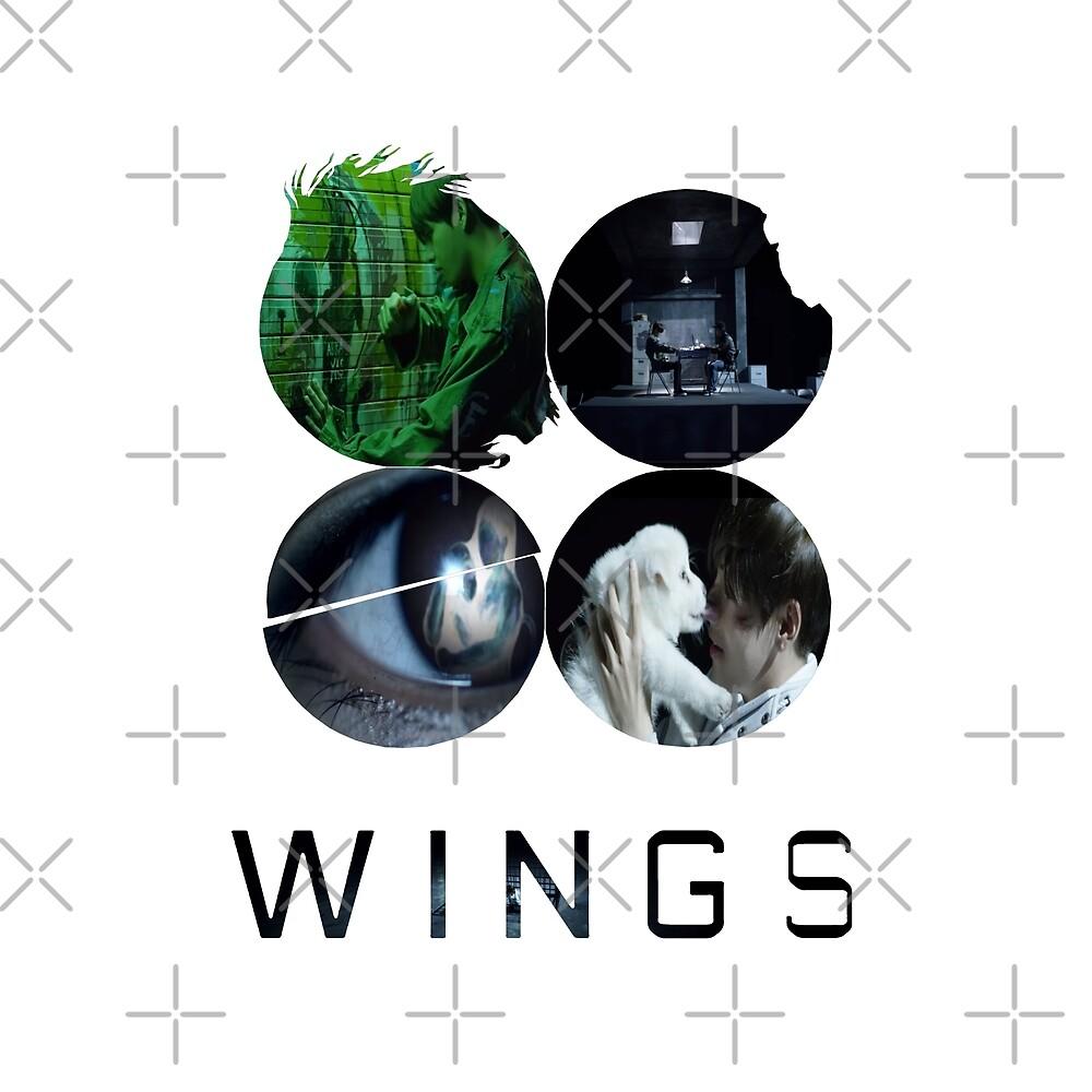 BTS-WINGS-STIGMA [WHITE] by Infirez