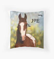 Cup-o-Joe; the Skittle Thief Throw Pillow