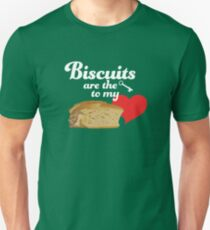 Biscuits are the Key to My Heart Unisex T-Shirt