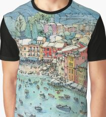 Portofino, Italy Graphic T-Shirt