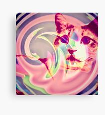 Psychedelic Voldemort Canvas Print