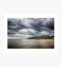 Stormy Seaside Art Print