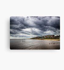 Stormy Seaside Canvas Print