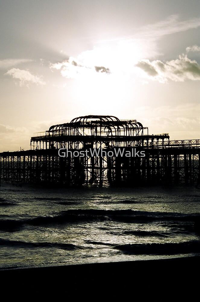 Pier into Descent by GhostWhoWalks