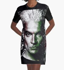 spike Graphic T-Shirt Dress