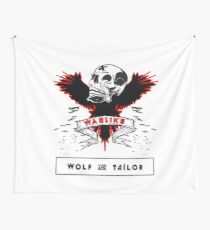 Wolf & Tailor - Warlike Wall Tapestry