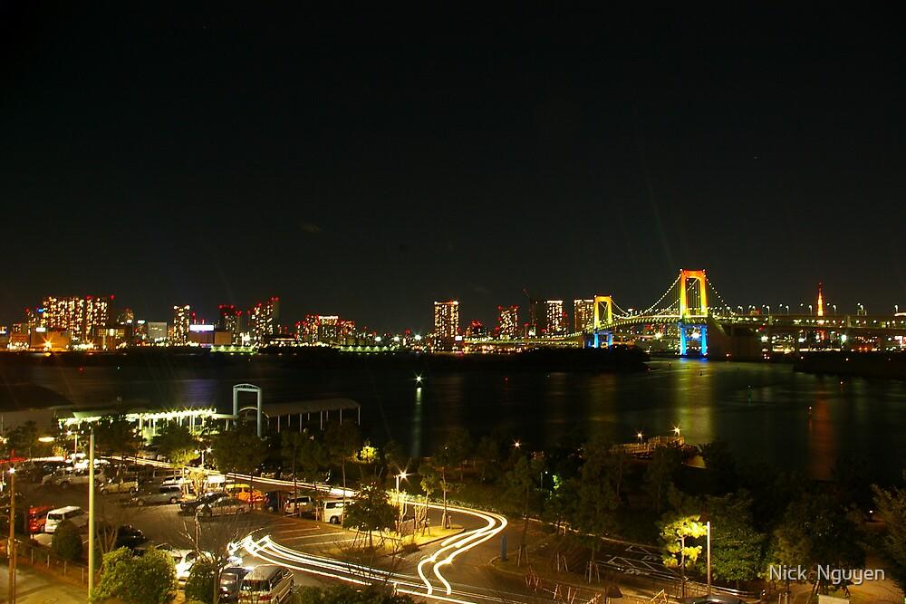Tokyo - Rainbow Bridge 2007_2 by Nick  Nguyen