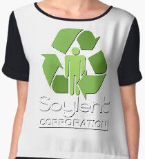 Soylent Green Women's Chiffon Top