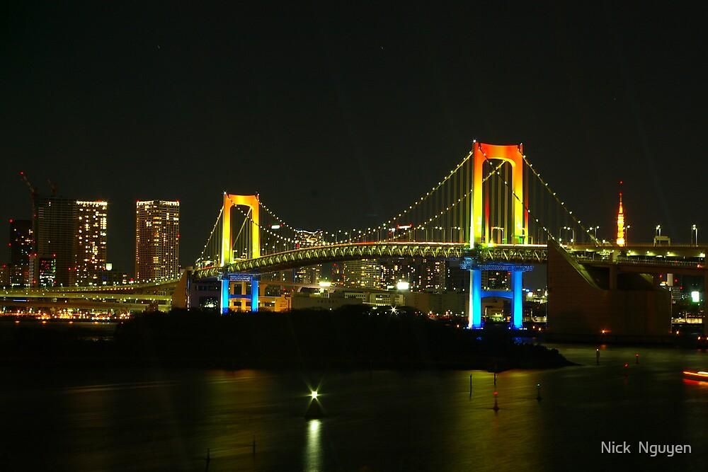 Tokyo - Rainbow Bridge 2007_1 by Nick  Nguyen