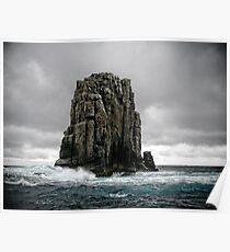 Tasman Sea Monolith Poster