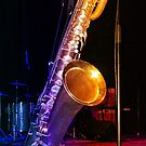 Jazzy Tone Colours - Bari Sax by BlueMoonRose