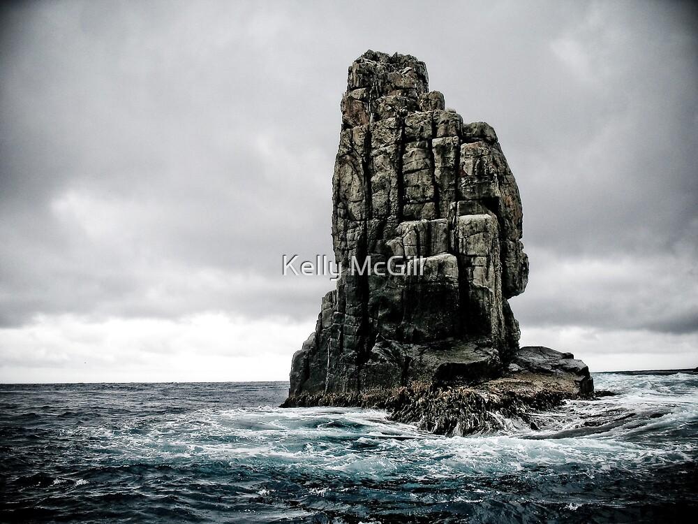 Rock Formation - Tasman Sea by Kelly McGill