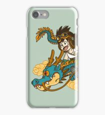 KID GOKU AND DRAGON iPhone Case/Skin