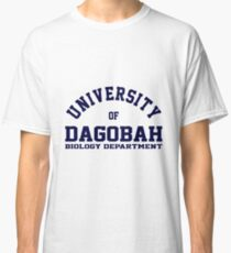 University of Dagobah Biology Department Classic T-Shirt