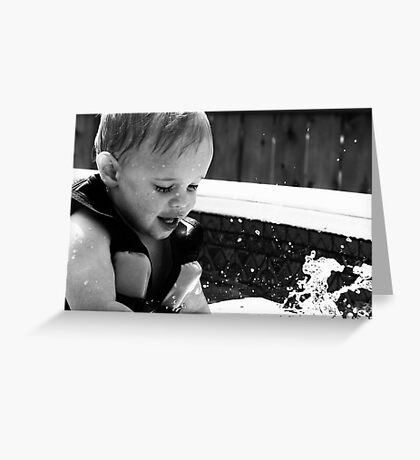 Discovering Water Greeting Card