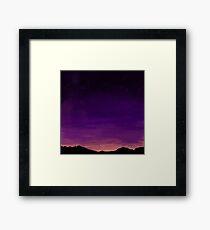 Insert Cheesy Sunset Title Name Here Framed Print