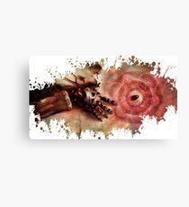 Fullmetal alchemist edwar hand splatter Canvas Print