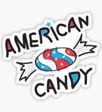 American Candy Sticker