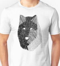 Camiseta ajustada Máscara de lobo