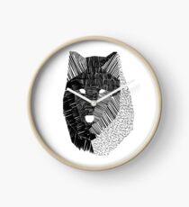 Wolf Mask Clock