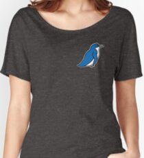 Worried Little Blue Penguin Women's Relaxed Fit T-Shirt